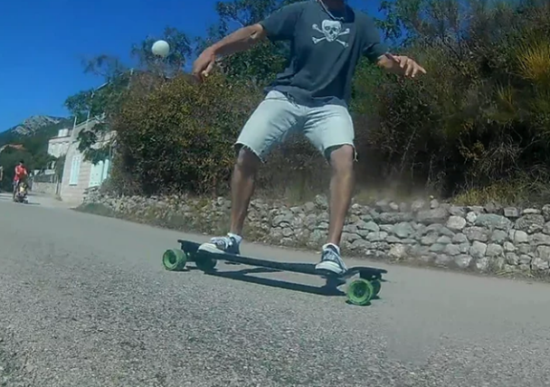 Landkiting - MBS All Terrain longboard