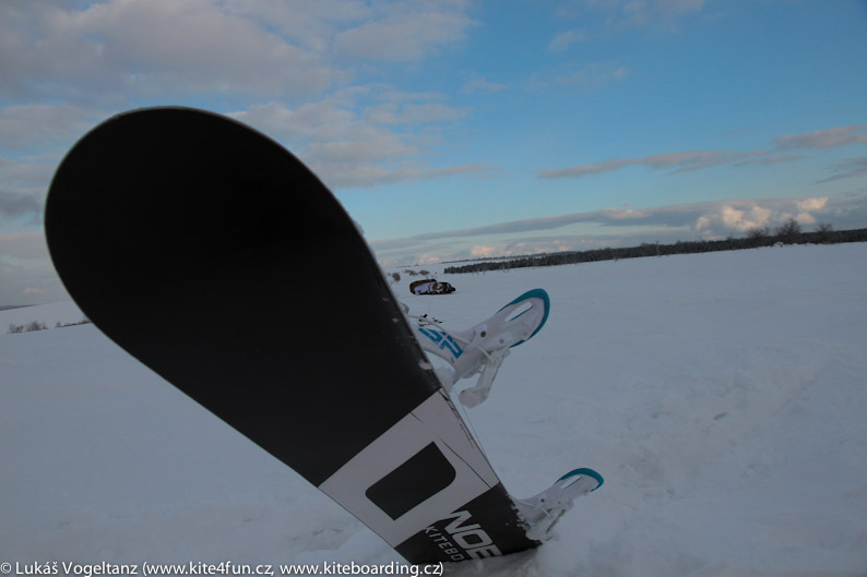 Snowkiteboard Nobile
